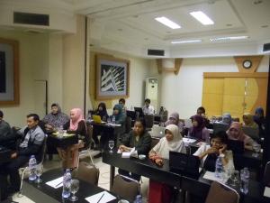 Pelatihan mendesain SIM Keperawatan, Hotel Peony, Pontianak (14-15 Des 2012)